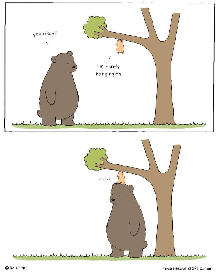 Comic by Liz Climo