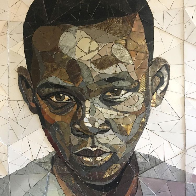 Portraits upcycling
