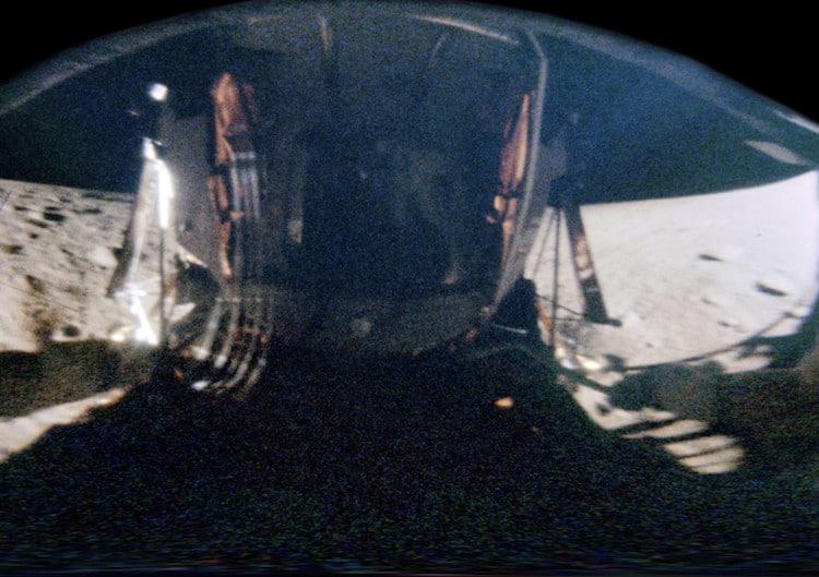 Apollo 12 NASA Photo Unwrapped by Michael Ranger