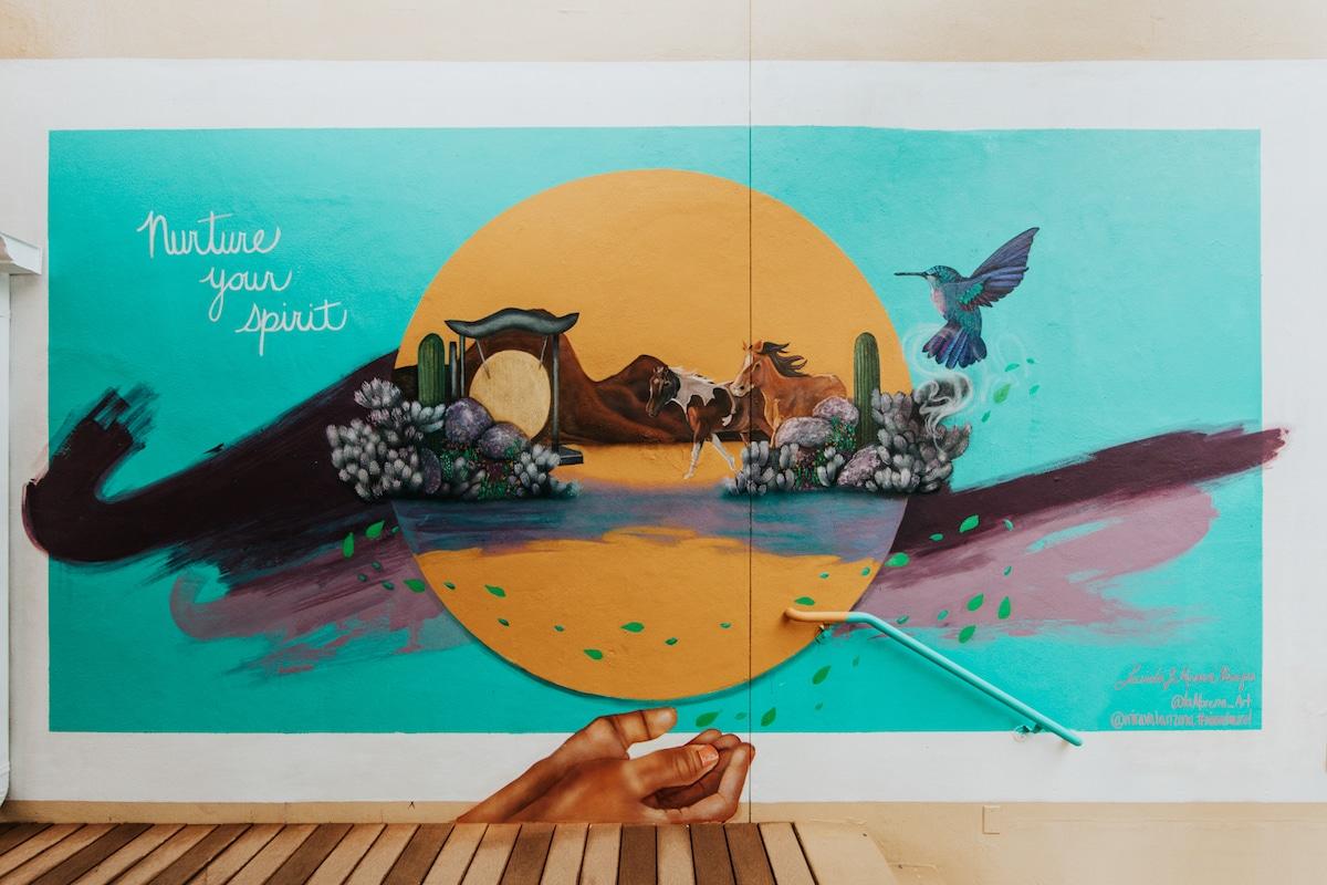 Mural by Lucinda Hinojos