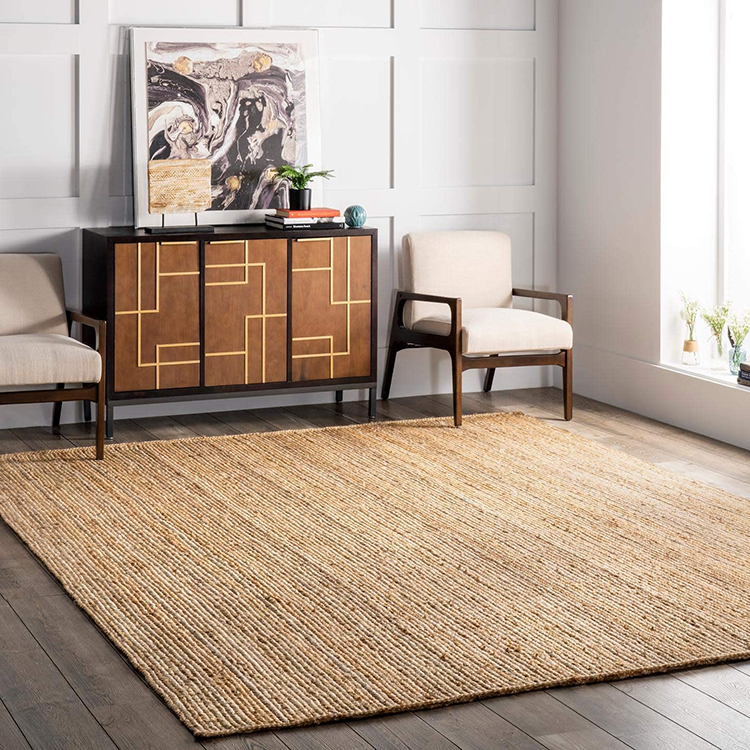 Natural Jute Accent Rug