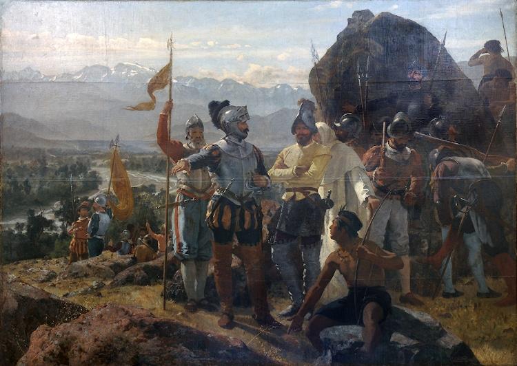 La fundación de Santiago
