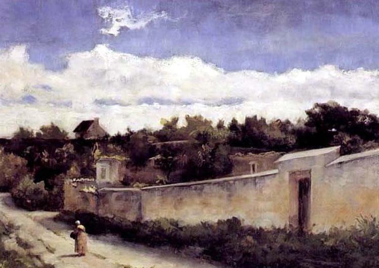 pintura de paisaje de pedro lira