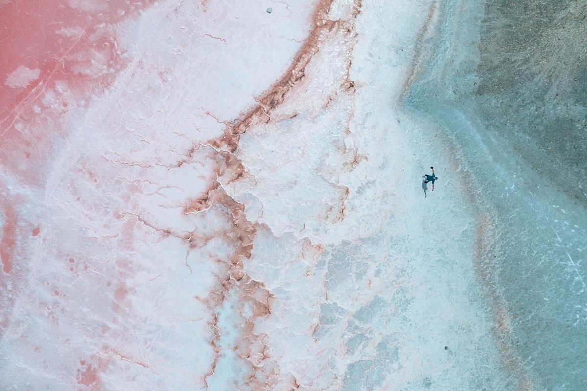 Salt Field in Southern France