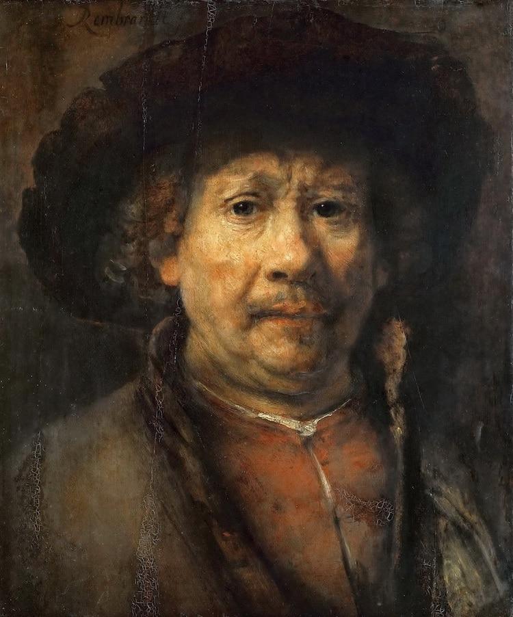 Rembrandt Self Portrait
