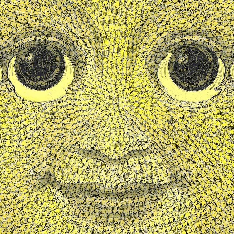 Intricate People Drawings by Richard Berner