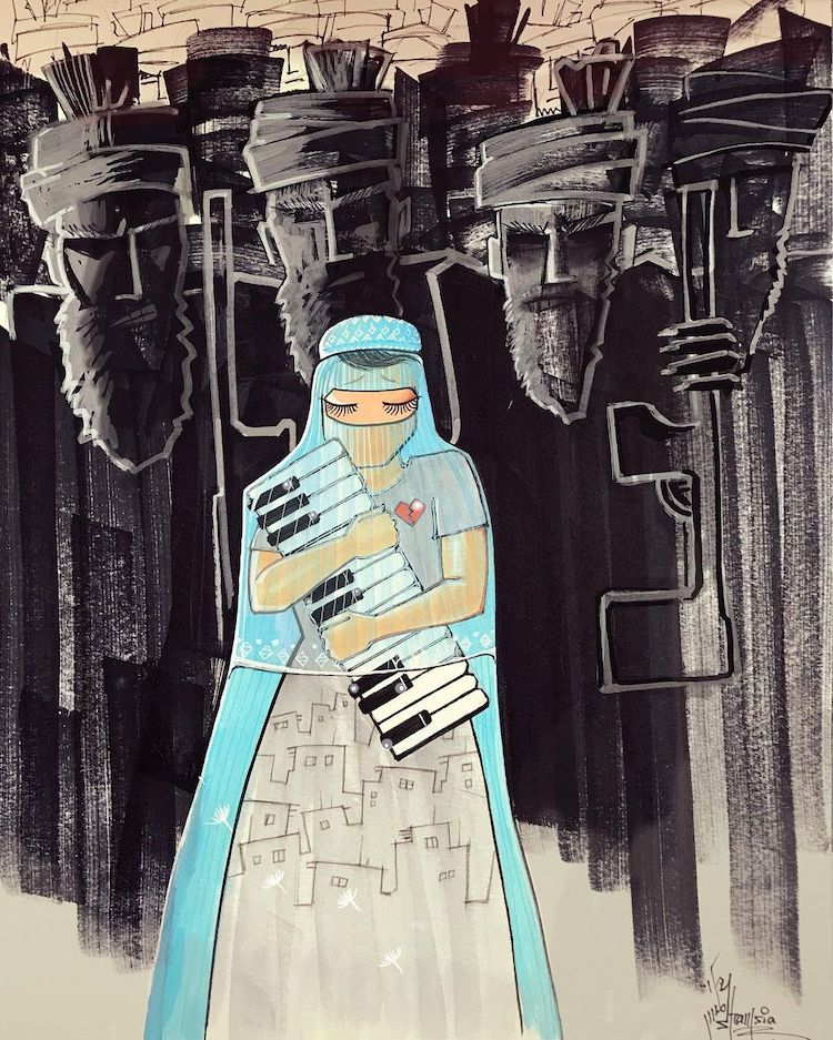Art About the Taliban in Afghanistan