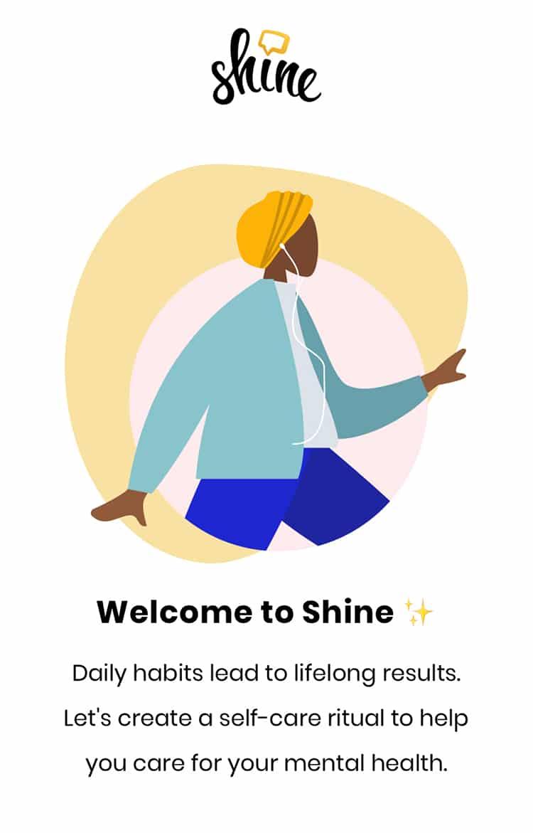 Shine App for Wellness