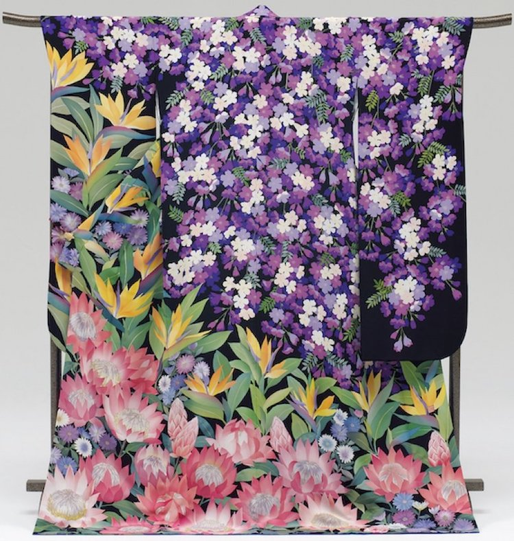 Japan Makes Kimonos for Every Country at Tokyo 2020 Olympics