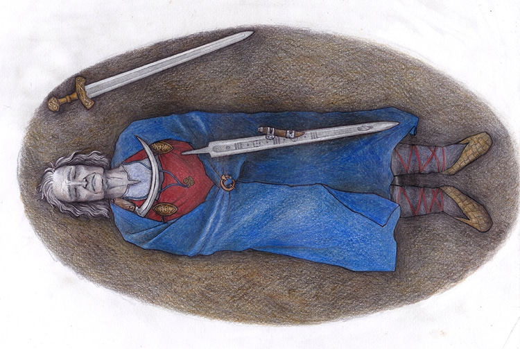 Iron Age Scandinavian Burial May Hold Remains of Elite Nonbinary Individual
