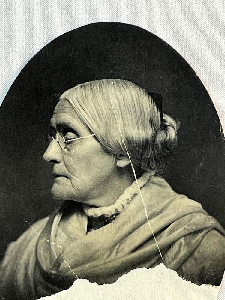 Susan B. Anthony Portrait by James E. Hale