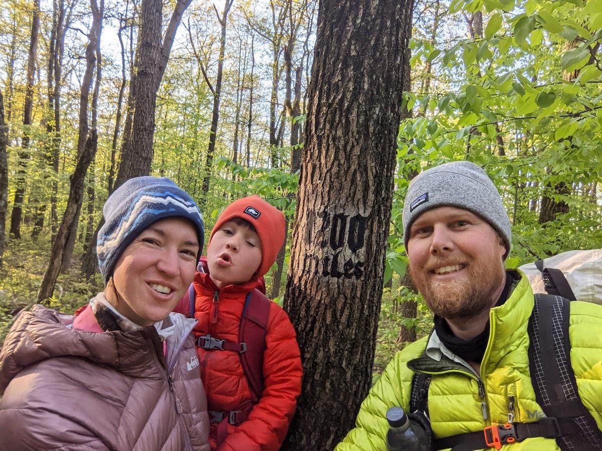 Sutton Family on the Appalachian Trail