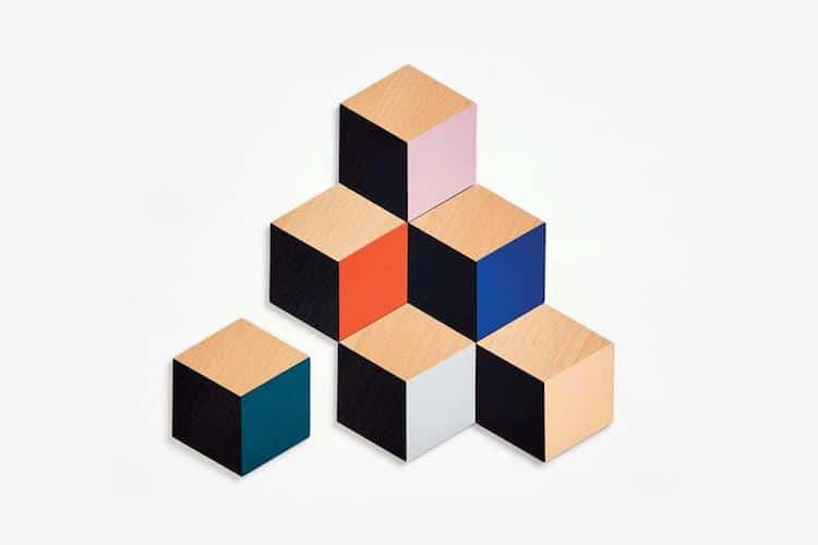 Portavasos hexagonales modulares de Bower Studios