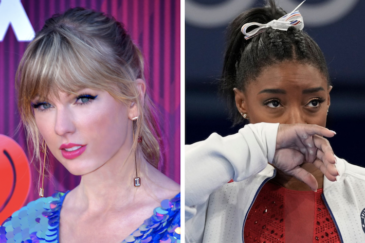 Taylor Swift Narrates Simone Biles Tribute Video on Twitter for 2021 Olympics