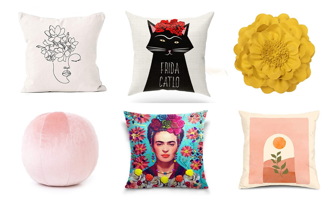 15 Awesome Throw Pillows for Artists and Art-Lovers