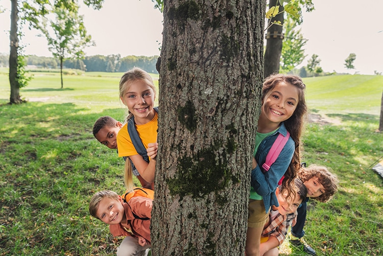 Study Finds Spending Time Among Trees Helps Kid's Brain Development