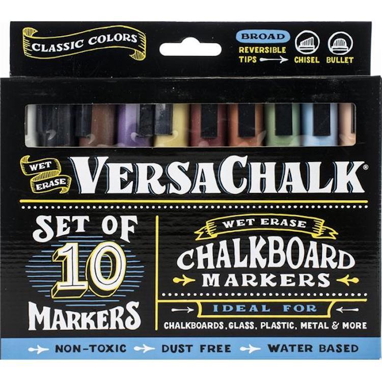 marcadores de gis VersaChalk