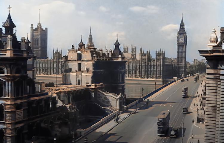 World War II Video Footage London
