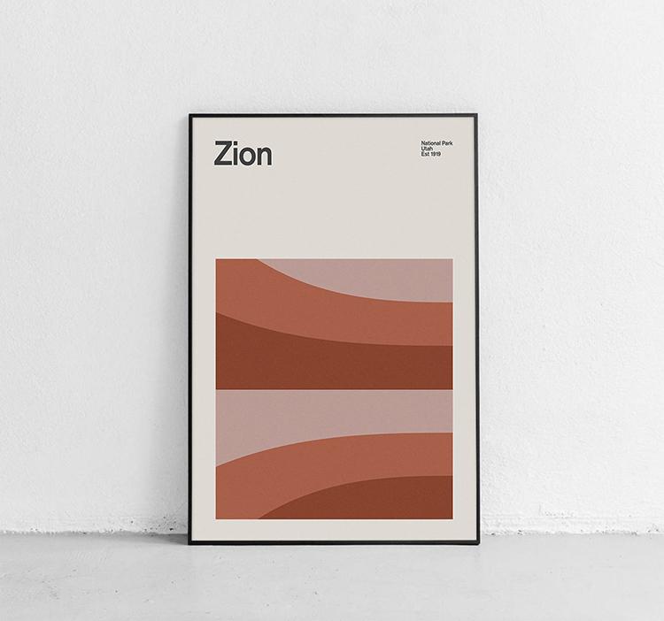 Zion Minimalist Poster