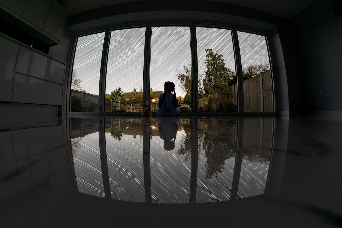 Astrofotografía desde el interior
