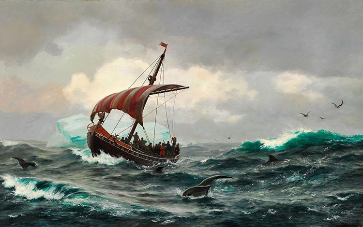 Rasmussen Vikings North America