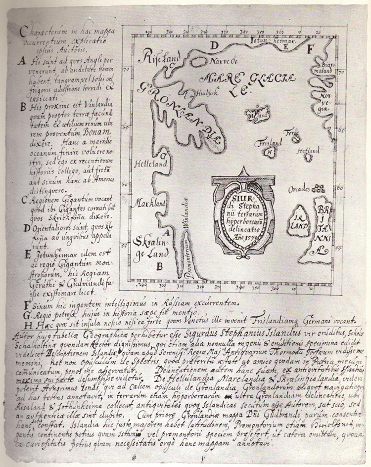 Skálholt Karte Manuscript