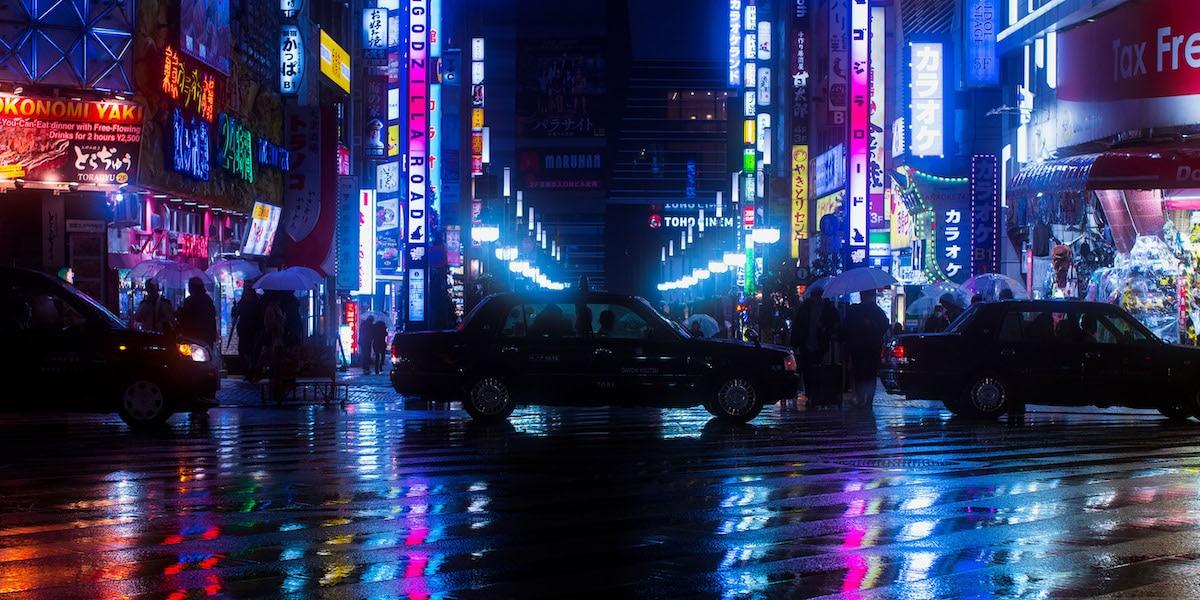 Tokyo at Night by Liam Wong