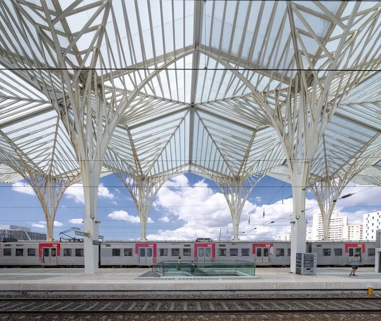 Estação do Oriente in Lisbon, Portugal