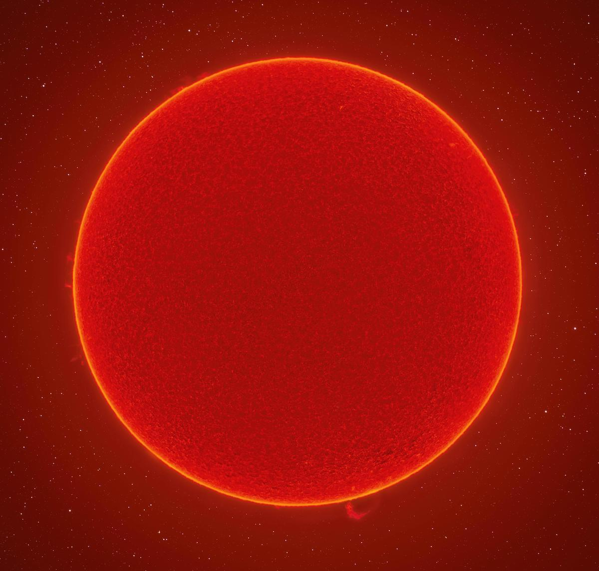High Definition Photo of the Sun by Andrew McCarthy