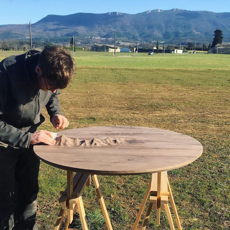 Mountainous Relief Furniture by Ben & Manu