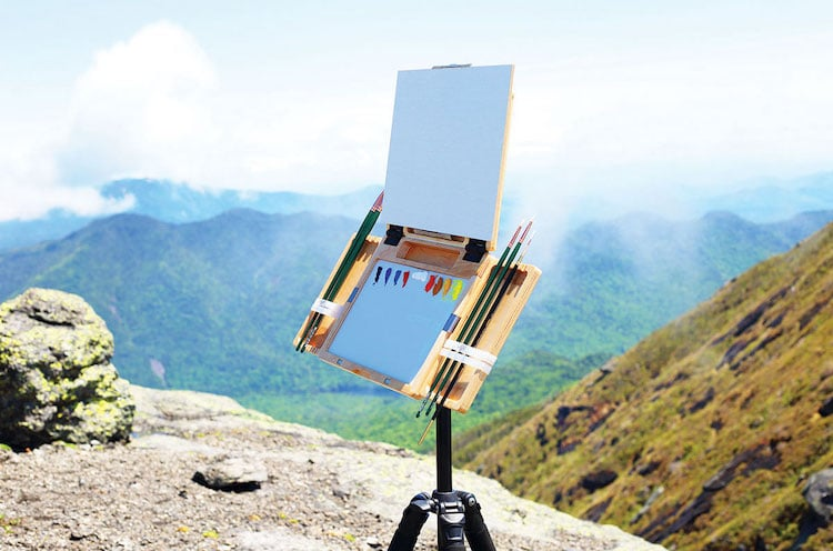 Easel in Nature