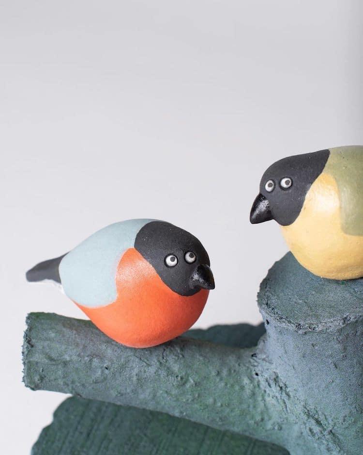 Ceramic Creatures by Helen Burgess