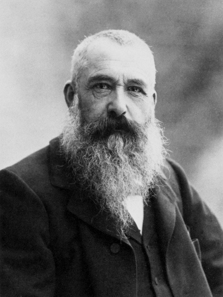 Claude Monet Portrait Photograph
