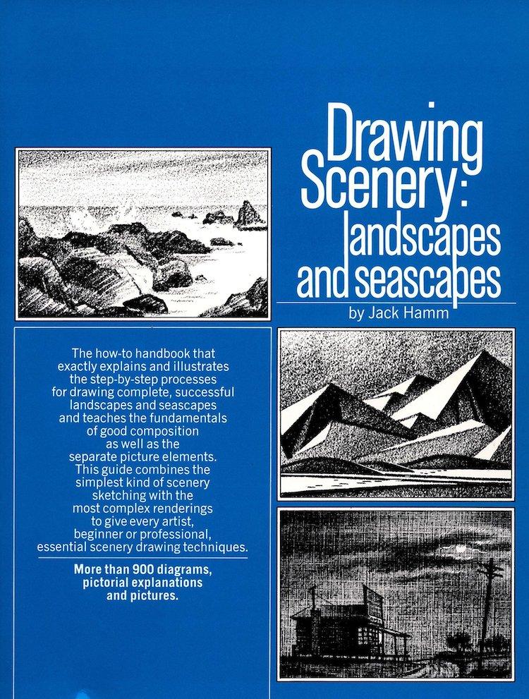 Drawing Scenery Book