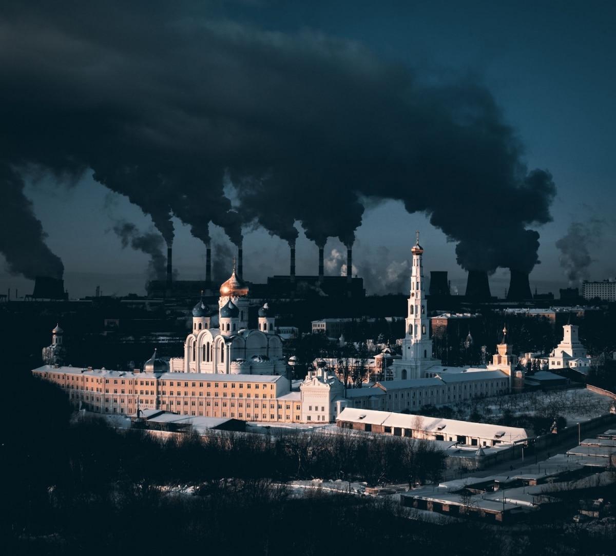 Monastère de 500 ans dans la région de Moscou