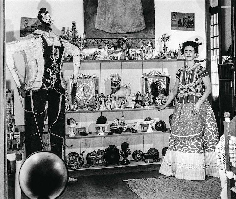 Frida Kahlo in Casa Azul