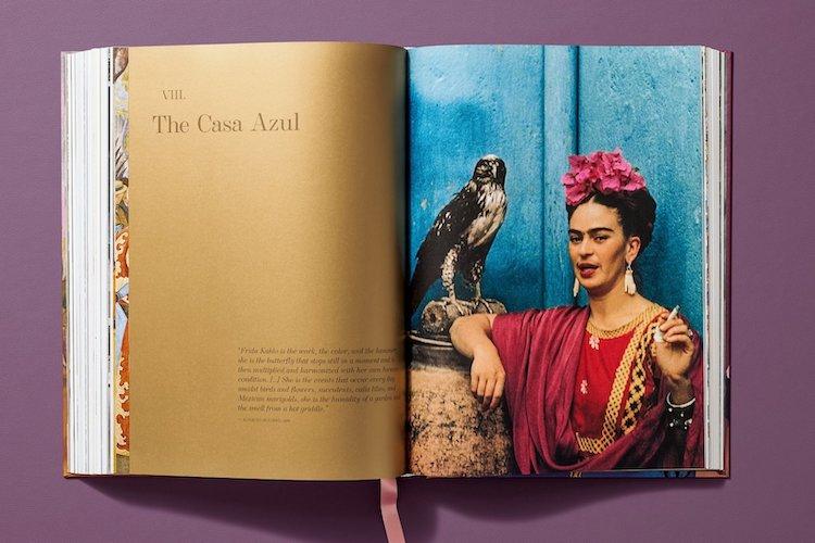 Frida Kahlo Book Spread