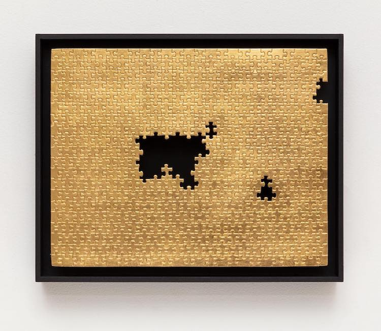 Missing Piece Series by Gabriel Dawe