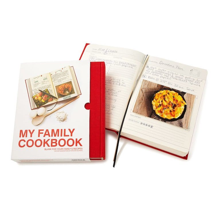 Personalized Family Cookbook