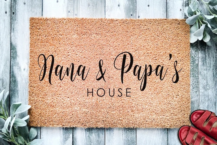 Welcome Mat for Grandparents