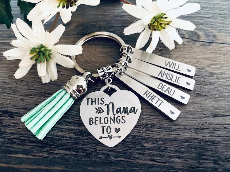 Personalized Keychain for Nana