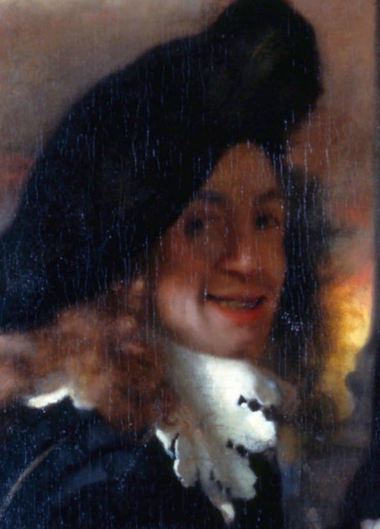 Self-Portrait of Jan Vermeer