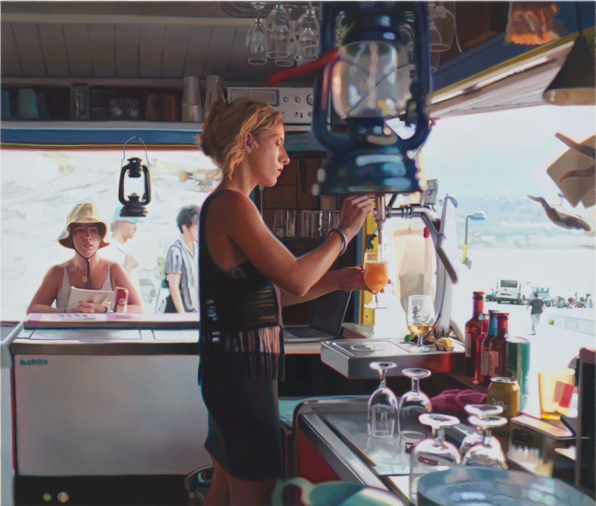 Realistic Oil Paintings of Modern Life by Kate Waters