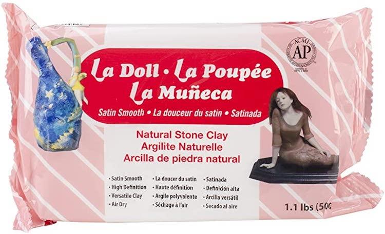 La Doll Air Dry Clay
