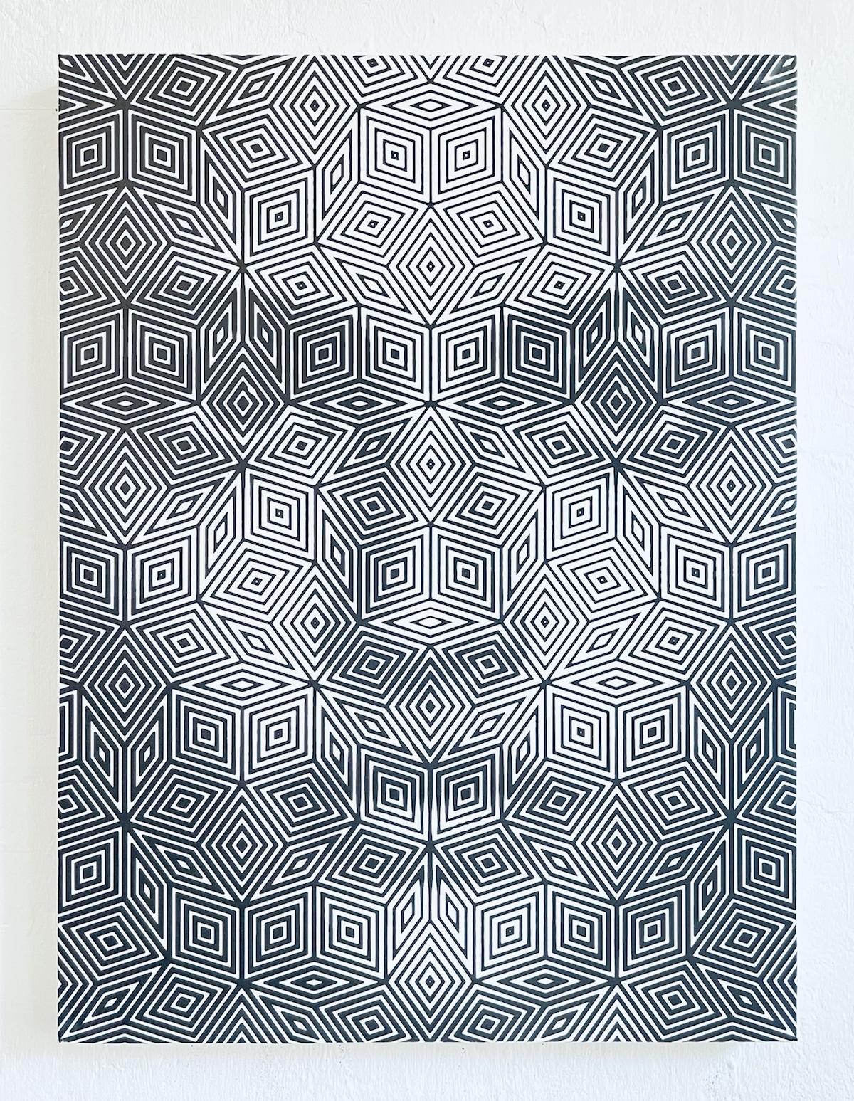 Geometric Pattern Portraits by Lee Wagstaff