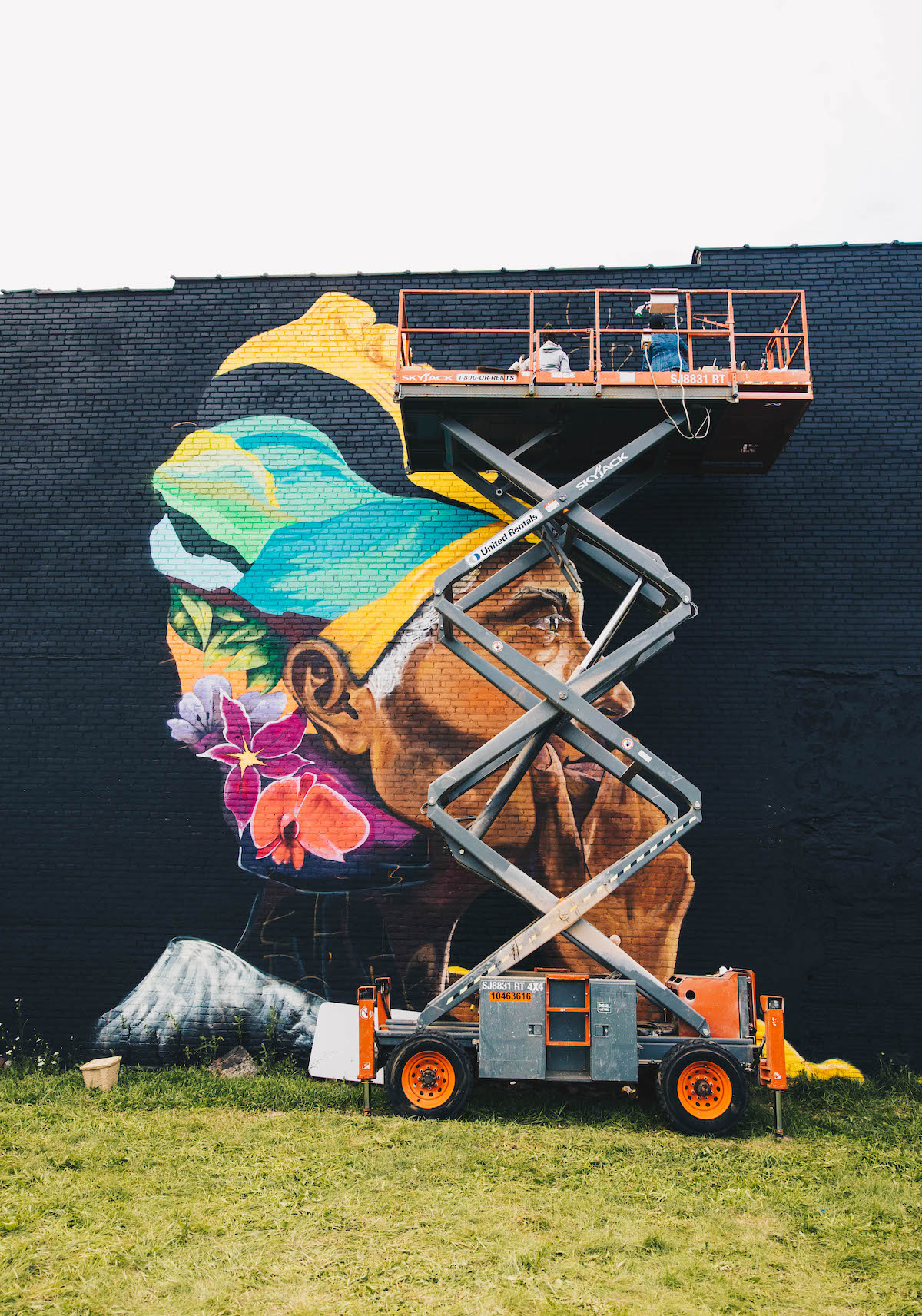 BLKOUT Walls Mural Festival in the City of Detroit