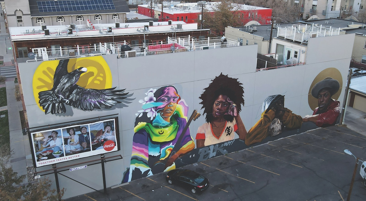 Mural Art by Black Contemporary Artists