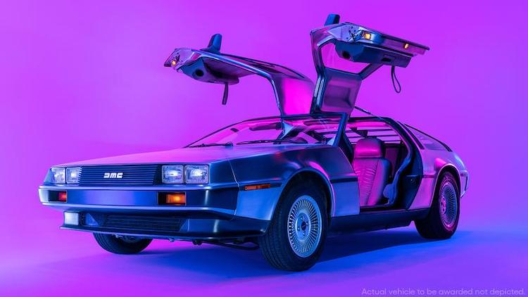 Back to the Future Car