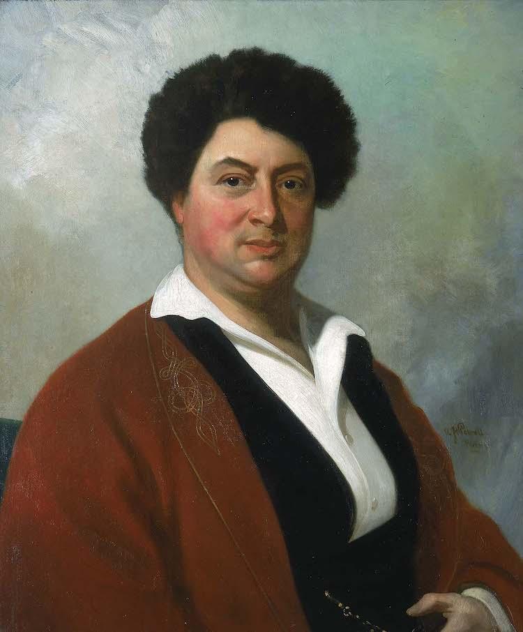 portrait Alexandre Dumas