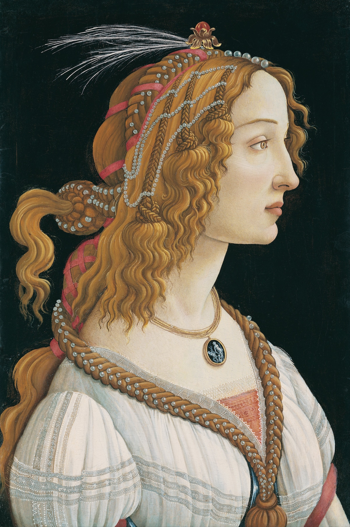 Portrait of a Lady by Sandro Botticelli